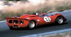 Ferrari 330 P4  Can-Am Bridgehampton 1968