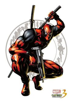 MARVEL VS CAPCOM 3 - DEADPOOL - VIDEO GAME WALL POSTER - 30CM X 43CM PS3 360