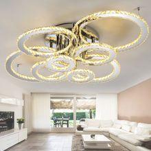 Luxus Decken Leuchte Kristall Esszimmer Glas Kugel Lampe Spot Küchen Strahler