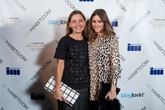 Amy Smilovic (founder and designer at Tibi) and I at the 2012 Bloglovin' Awards!