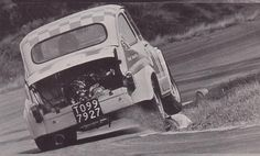 ETCC 1968 with the fantastic Fiat Abarth 1000 at the limit