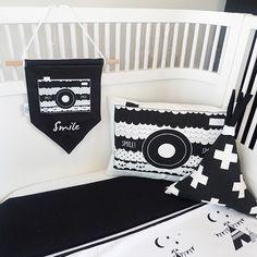 zwart wit monochrome kinderkameraccessoires