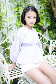 Beautiful Japanese Girl, Beautiful Little Girls, Cute Little Girls, Beautiful Asian Women, Preteen Girls Fashion, Kids Outfits Girls, Girl Fashion, Girl Outfits, Little Girl Models
