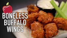 Applebees Boneless Buffalo Chicken Wings | HellthyJunkFood