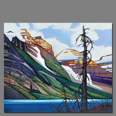 nb Canada Landscape, Landscape Art, Landscape Paintings, Paintings I Love, Oil Paintings, Painting Art, Watercolor Paintings, Canadian Painters, Canadian Artists