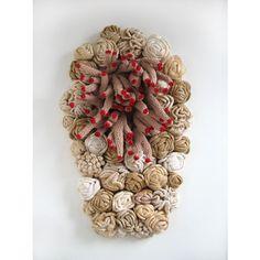 Emily Barletta / Plant Sleep / 2007 / crocheted yarn