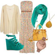 Mix n match hijab style dresses