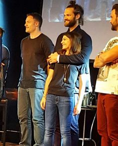 The height difference between Gen and Jared is my favorite.