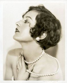 Joan Crawford by Ruth Harriet Louise - c. 1920s