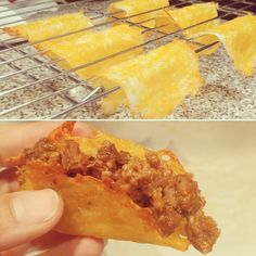 Fit Foodie: Trying to make this all work | Nicole Michelles Cheddar Cheese Shells for TACOS!