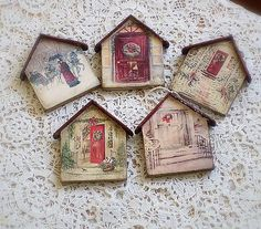 agir / Vianočné ozdoby Coasters, Frame, Handmade, Home Decor, Hand Made, Room Decor, Frames, Craft, Home Interior Design