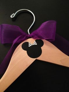 Disney Bridal Party Hangers / Personalized Hanger / Mickey & Minnie Wedding / Minnie Mouse Hanger / Wedding Hanger