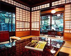 Japan - At Kyoto's Hiiragiya ryokan.