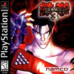 Tekken 3 Sony Playstation - Playstation - Ideas of PlaystationYou can find PlayStation and more on our website.Tekken 3 Sony Playstation - Playstation - Ideas of Playstation Tekken 2, Jin Kazama, Retro Videos, Retro Video Games, Retro Games, Playstation 2, Nintendo, Cry Anime, Anime Art