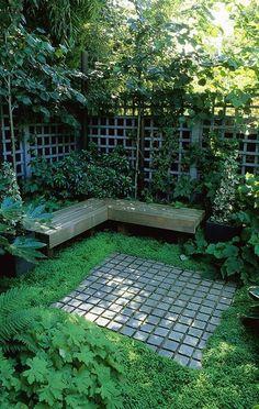Top 17 Private Patio Designs For Botanical Garden – Easy Backyard Decor Project - DIY Craft (8)