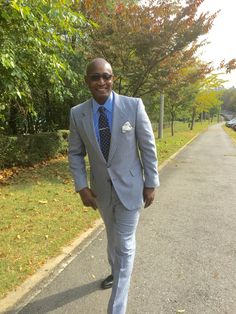 Attire and shoes by GvS Custom Clothier & Michael Snell Bespoke