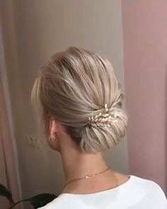 hair updo tutorial So elegant! Easy Hairstyles For Long Hair, Braided Hairstyles, Wedding Hairstyles, Updo Hairstyle, Braided Updo, Bridal Hair Tutorial, Hair Updo Tutorial, Hair Up Styles, Hair Dos