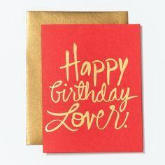Happy Birthday Lover