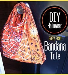 DIY Bandana Trick Or Treat Bag « Crafts – Craft Ideas