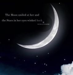 Stars in her eyes Moon Lovers Quotes, Moon And Star Quotes, Eye Quotes, Moon Quotes, Tattoo Quotes, Meaningful Quotes, Inspirational Quotes, Moon Poems, Schrift Tattoos