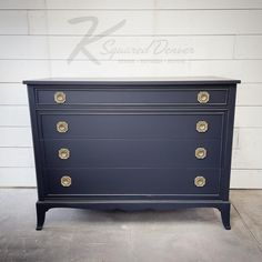 Painted Furniture, Furniture Design, Persian Blue, General Finishes, Klein Blue, Milk Paint, Key West, Midnight Blue, Contemporary