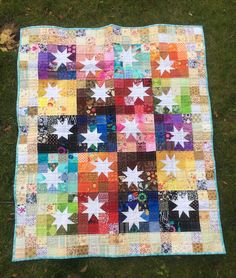 Ariane Quilts: Another finished little quilt!