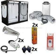 HOMEbox® Evolution R240. Cooltube HPS 1200w Gardening