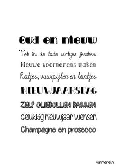 Betekenis oud en nieuw - #Quotes - Buy it at www.vanmariel.nl - Poster € 3,95 - Card € 1,25