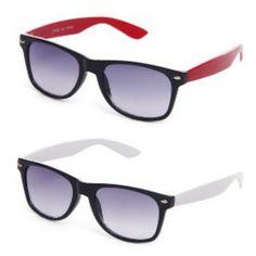 Davidson Serene Black Shaded Wayferer Sunglasses – Buy 1 Get 1 Free @ 399