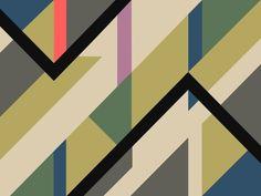 Modernist Dazzle Ship Camouflage Design Art Print by Kristian Goddard   Society6