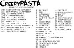 Creepypasta Birthday Scenario - Going to the bar with shedinja