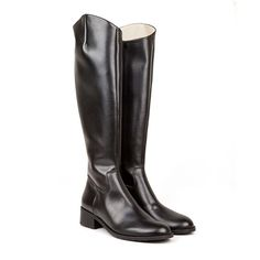 Jane Black Vegan Knee High Riding Boot non leather pleather with synthetic faux leather lining 100% Vegan, vegetarian and cruelty-free.