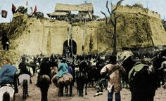 On 23 October 1911, the revolutionary army captured the Manchu castle of Xi'an.  Victims of the Manchu overlords numbered up to 2,000 (another source says 5,000).  The racial conflict between the Manchu and Han came to a peak during the Xinhai revolutions. Many Manchus changed their names as a Han Chinese to protect themselves.  There are still many aspects worth researching about the assimilation of Manchurians.