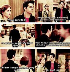 Teen Wolf season 4 - Stiles and Lydia