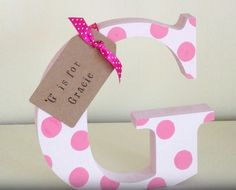 Freestanding wooden letters and numbers - The Supermums Craft Fair