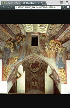 Monastery of St. Fresco, Early Christian, Christian Art, Tempera, San Antonio, St Anthony's, Byzantine Art, Victorian Architecture, Orthodox Icons