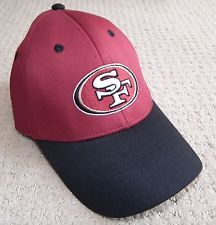 NWT SF 49ERS Football NFL GAME DAY BASEBALL CAP HAT Deadstock Vintage RARE!