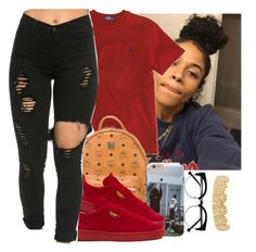 """""""Untitled #531"""" by oh-thatasia ❤ liked on Polyvore featuring Ralph Lauren, MCM and Puma"""