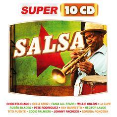SALSA -  #CheoFeliciano #CeliaCruz #FaniaAllStars #WillieColon #LaLupe #RubenBlades #PeteRodriguez #RayBarretto #HectorLavoe #TitoPuente #EddiePalmieri #JohnnyPacheco #Sonora Poncena #Super10CD