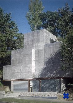 """235. Rewi Thompson /// Thompson House /// Kohimarama, New Zealand /// 1985 OfHouses guest curated by Matheson Whiteley: """"Rewi Thompson's house for his own family has neither precedent or progeny. Its..."""