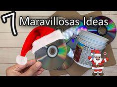 7 MANUALIDADES NAVIDEÑAS 2020/Decoração de Natal/Christmas Decor 2020 - YouTube Christmas Lights, Christmas Holidays, Christmas Decorations, Xmas, Instruções Origami, Mexican Crafts, Decor Crafts, Quilling, Ideas Para