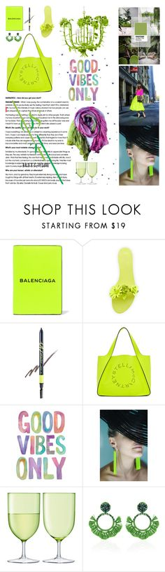 """""""Vita colorata"""" by xexxhendez ❤ liked on Polyvore featuring Balenciaga, Sophia Webster, Touch in Sol, STELLA McCARTNEY and LSA International"""