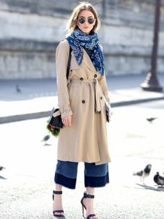 trench & denim. Paris.