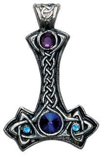 Asatru Thor's Hammer Jewelry - Purple Gypsy Bazaar