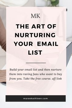 It's time to simplify the process of growing and nurturing your email list. You want a list of raving fans who want to buy from you? This course is for you. It's free and valuable at the same time.