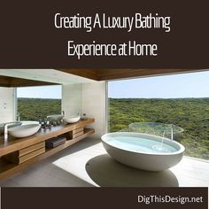 I must say I love my tub room. It helps me to just chill out after a long day. Every time someone sees my tub room they are amazed, but what they don't realize is with a little planning they can create their own spa-like bathing experience in their own home.