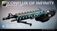 Exotic Machine Gun Concept Art