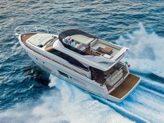 MY BLUE LATITUTDE is fitted with Volvo Penta 370 & has many unique features, including a true three cabin layout, comfortable reclining area...