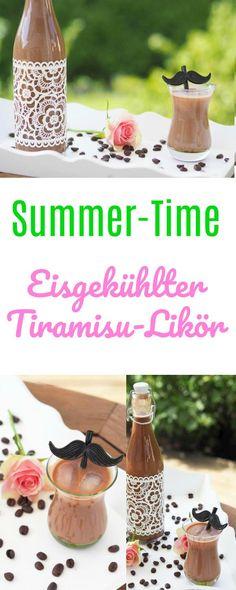 Ihr mögt Tiramisu oder Amaretto? Dann müsst Ihr diesen leckeren Tiramisu - Likör unbedingt probieren. In wenigen Minuten im Thermomix oder im Topf gemixt....eisgekühlt ist der Tiramimsu - Likör im Sommer ein Genuss! Auf jeder Party der Renner.