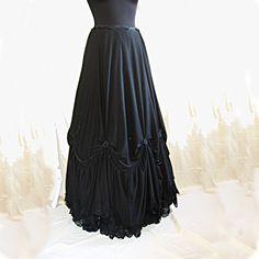 Skirt Flora victorian fantasy steampunk Somnia by SomniaRomantica, $149.00